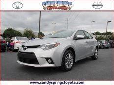 Used 2014 Toyota Corolla LE for sale in Atlanta, GA 30328