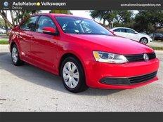 Used 2014 Volkswagen Jetta SE Sedan for sale in Delray Beach, FL 33483