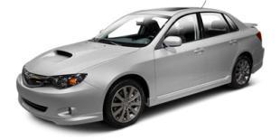 2010 Subaru Impreza Sedan WRX
