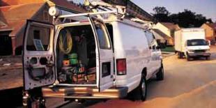 2003 Ford Econoline Cargo Van