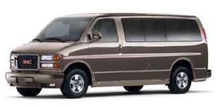 2001 GMC Savana Cargo Van