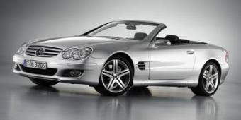 Mercedes-Benz SL550 in Milwaukee