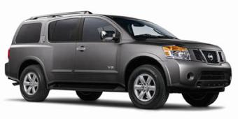 Nissan Armada in Sandy
