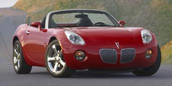Pontiac Solstice in New Orleans