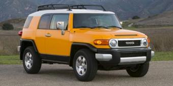 Toyota FJ Cruiser in San Francisco