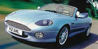 Aston Martin DB7 in Corrales