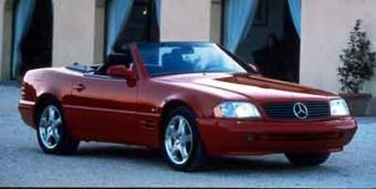 Mercedes-Benz SL320 in Lexington