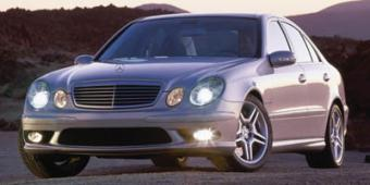 Mercedes-Benz E55 AMG in Palm Beach