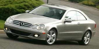 Mercedes-Benz CLK500 in Reston