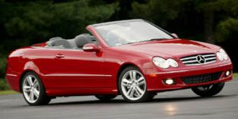 Mercedes-Benz CLK550 in Palm Beach
