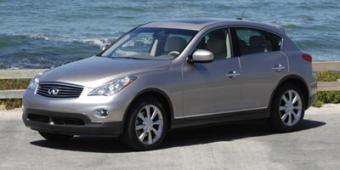 Infiniti EX35 in New York