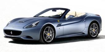 Ferrari California in Shelley