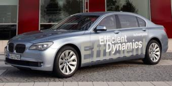 BMW ActiveHybrid 7 in Truth or Consequences