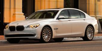 BMW 740Li in New Orleans