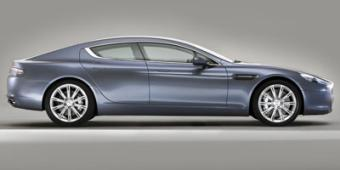 Aston Martin Rapide in Fountain
