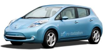 Nissan Leaf in Grand Rapids