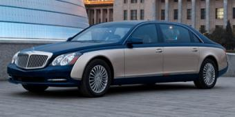 Maybach 62 in Austin