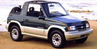 Suzuki Sidekick in Homer