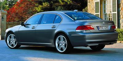 2006 bmw 760li sedan prices reviews. Black Bedroom Furniture Sets. Home Design Ideas