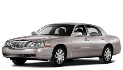2009 Lincoln Town Car Sedan Prices Reviews