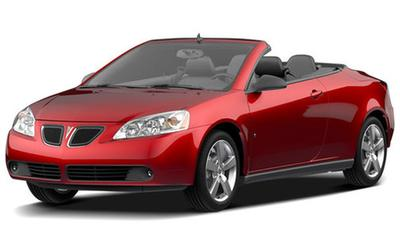 2009 Pontiac G6 Convertible Prices Amp Reviews