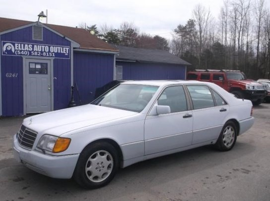 Used 1993 mercedes benz 400sel for sale in spotsylvania for 1993 mercedes benz 400sel for sale