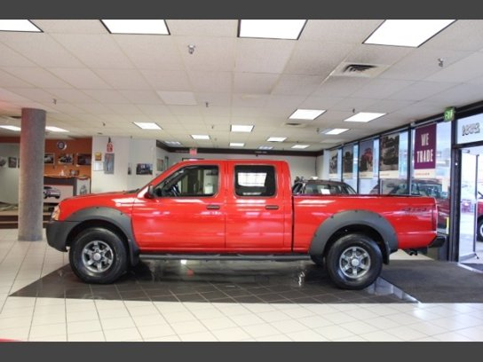 Used 2003 Nissan Frontier 4x4 Crew Cab Long Bed