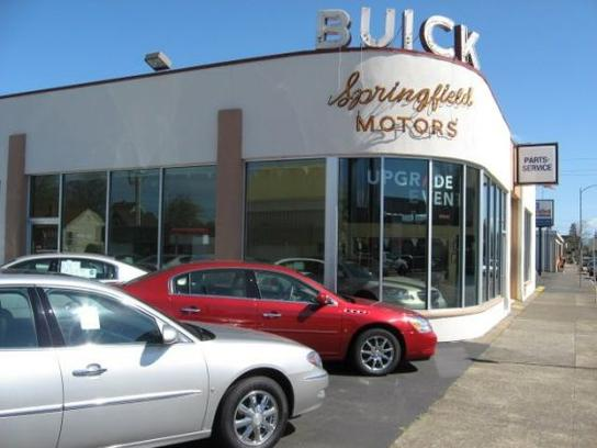 Springfield Buick Springfield OR Car Dealership And Auto - Buick springfield