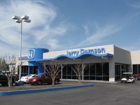 Jerry damson honda huntsville al 35805 car dealership for Honda dealerships in alabama