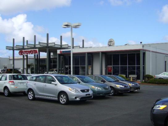 Servco Toyota Windward Kaneohe Hi 96744 2041 Car