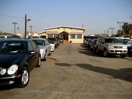 Randy's Auto Sales : Ontario, CA 91762 Car Dealership, and ...