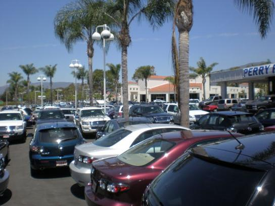 What are some models sold by Perry Ford in Santa Barbara, California?