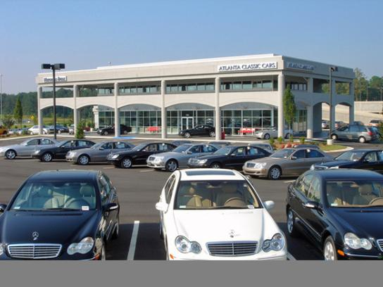 Atlanta classic cars mercedes benz car dealership in for Mercedes benz dealers atlanta