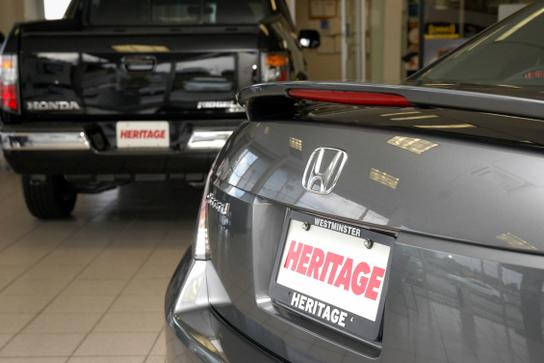 heritage honda westminster car dealership in westminster