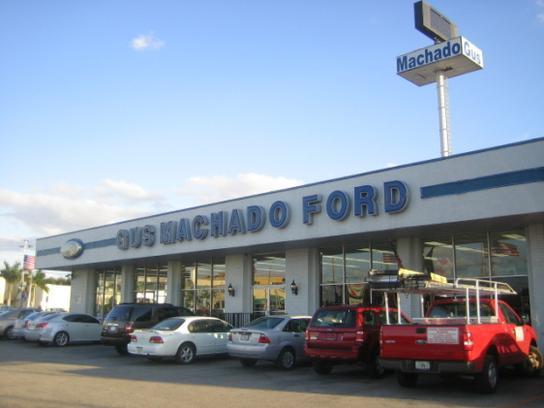 Gus Machado Ford Inc Hialeah Fl 33012 3217 Car Dealership And