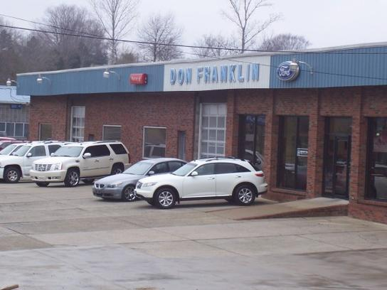 Ford Dealership Franklin >> Don Franklin Ford Columbia Ky 42728 Car Dealership And Auto
