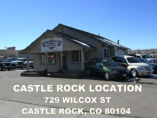 berkenkotter motors car dealership in castle rock co