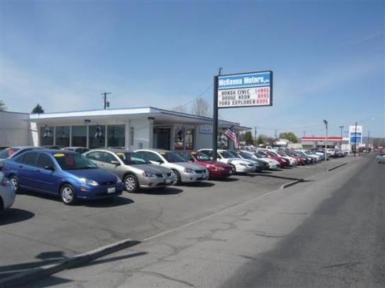 mckenna motors inc union gap wa 98903 car dealership