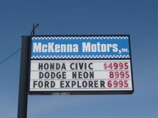 Mckenna Motors Inc Union Gap Wa 98903 Car Dealership