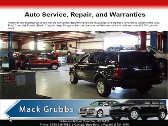 mack grubbs ford columbia ms 39429 8103 car dealership