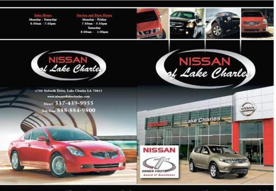 nissan of lake charles lake charles la 70615 car dealership and auto financing autotrader. Black Bedroom Furniture Sets. Home Design Ideas