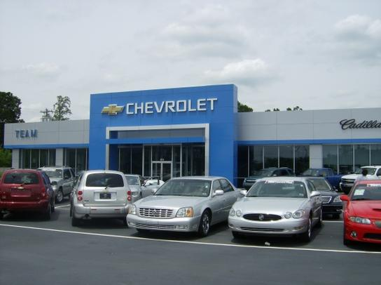 team chevrolet cadillac buick gmc salisbury nc 28147 car dealership and auto financing. Black Bedroom Furniture Sets. Home Design Ideas