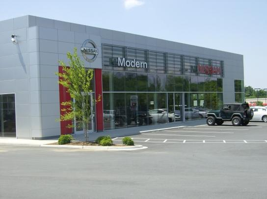 Modern Nissan Of Concord Car Dealership In Concord Nc