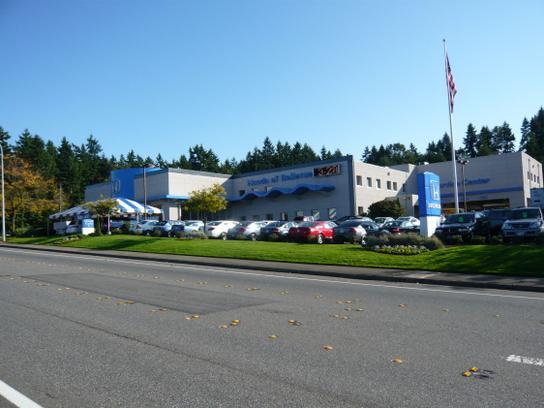 Honda auto center of bellevue car dealership in bellevue for Honda dealers in washington state