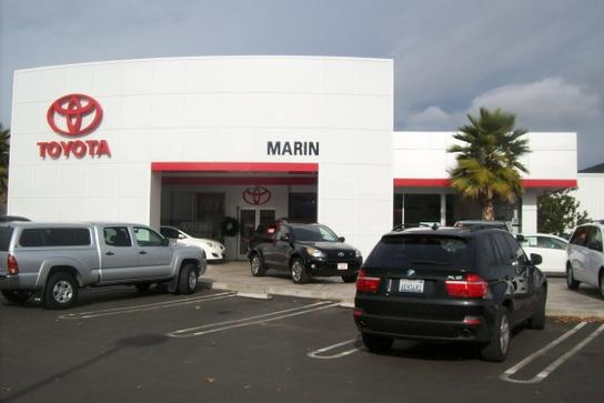 toyota marin car dealership in san rafael ca 94901