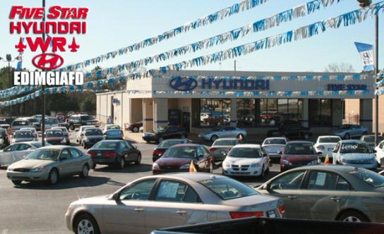 Five Star Hyundai Russell Parkway U003eu003e Five Star Hyundai   Warner Robins : Warner  Robins