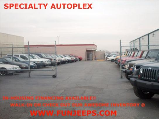 specialty autoplex car dealership in arlington tx 76011 kelley blue book. Black Bedroom Furniture Sets. Home Design Ideas