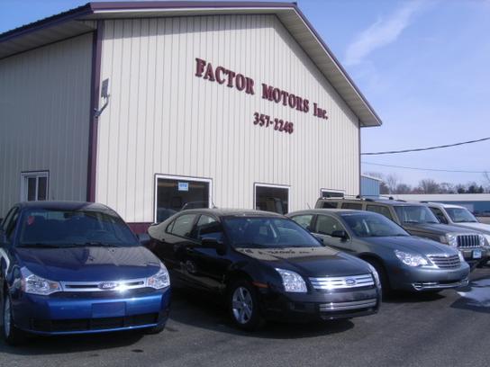 factor motors inc le center mn 56057 car dealership