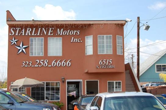 Starline Motors Inc Los Angeles Ca 90042 Car Dealership