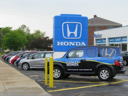 Ganley Honda North Olmsted Oh 44070 Car Dealership And